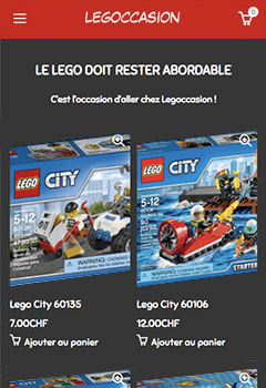 legoccasion.ch mobile