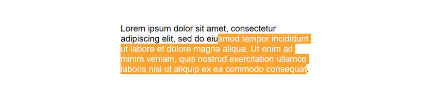 Changer la couleur d'un texte sélectionné