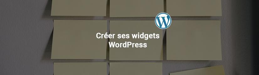 Créer ses widgets WordPress