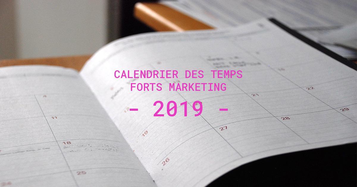 Calendrier Des Feux De L Amour 2019.Calendrier Des Temps Forts Marketing 2019 Oriente Vaud