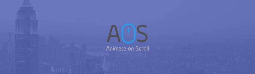 Des animations au scroll avec AOS