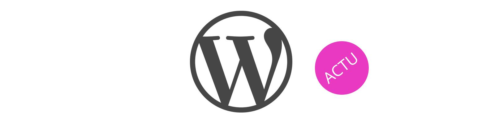 [MAJ 13.09.2019] L'actualité WordPress