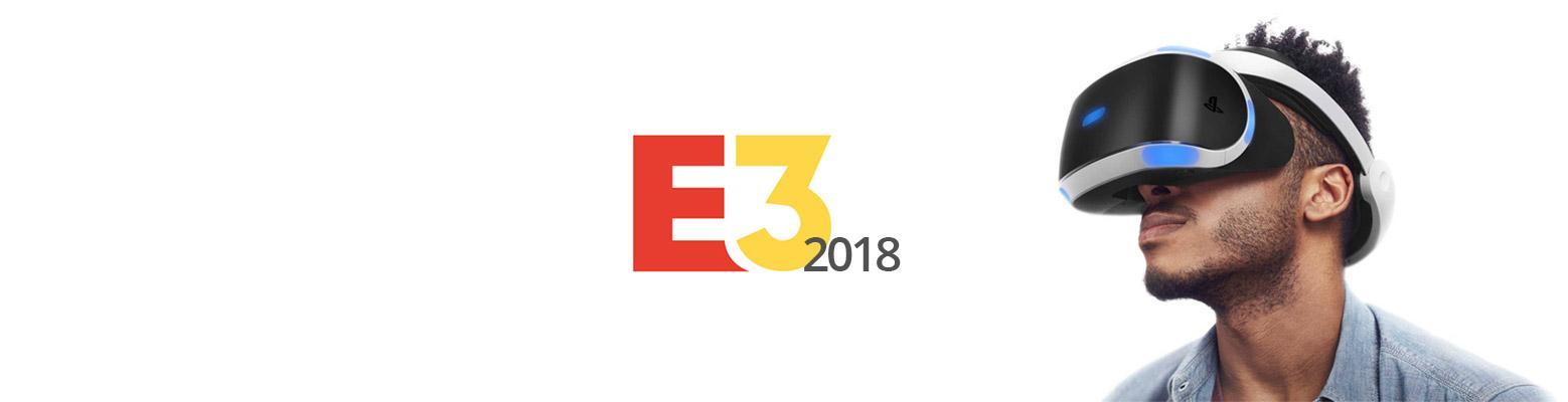 La réalité virtuelle à l'E3 2018