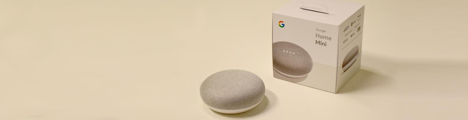 Test du Google Home Mini