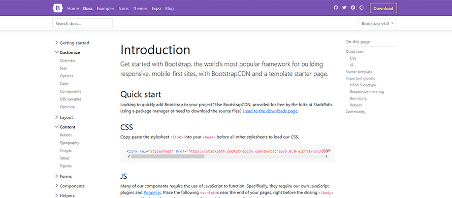 bootstrap5-documentation