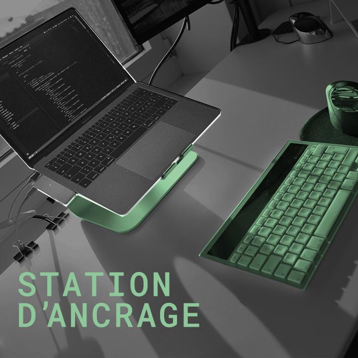 station d'ancrage