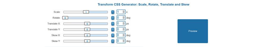 generateur-css-transform