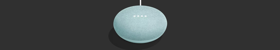 Google Home Mini Aqua Blue