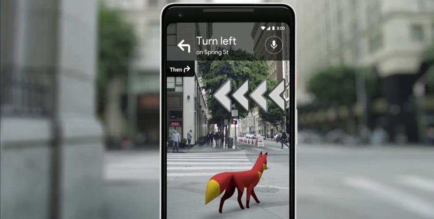 Google Maps - AR