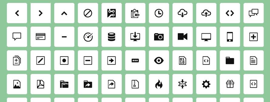 Bootstrap 4 - Ajouter des icônes