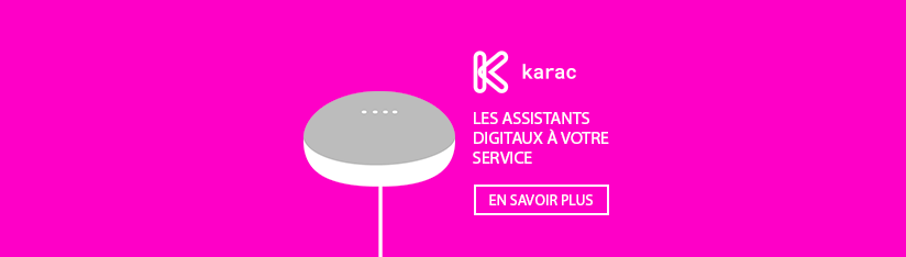 Promotion vers assistants digitaux