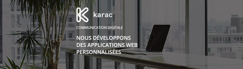 Promotion vers l'agence - application web