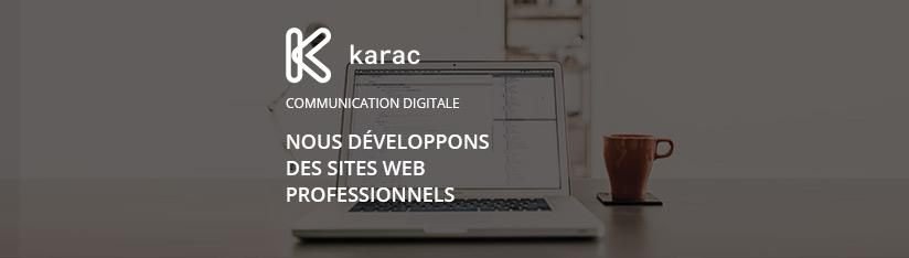 Promotion vers agence - sites web professionnels